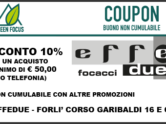 effedue coupon greenfocus